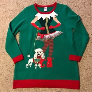 """Holiday """"Ugly"""" Sweater Tunic XL"""